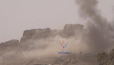 الطيران السعودي يستهدف منازل المواطنين بسنحان