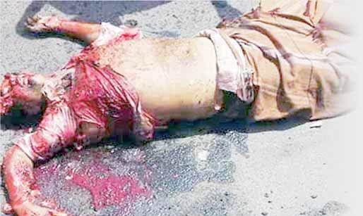 انقذوا البراءة من مناظر العنف الدموية