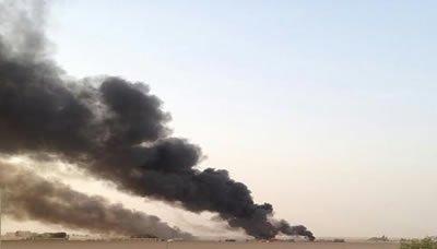 مصدر عسكري: مصرع العشرات وتدمير طائرات أباتشي وعدد كبير من المدرعات بعملية نوعية بمارب