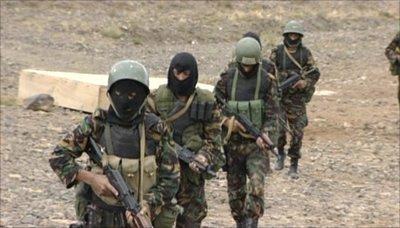 مصرع 16 جنديا سعودياً وجرح أخرين في كمين بالقرب م%D