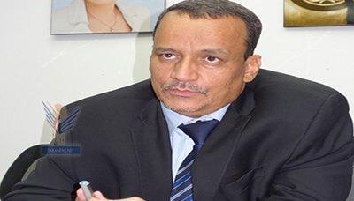 ولد الشيخ أحمد يعرب عن إمتعاضه الشديد لإرسال تحالف العدوان تعزيزات عسكرية إلى اليمن