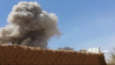 5 جرحى بقصف طيران العدوان السعودي لمنزل بحي شملان